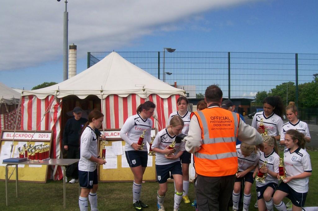 U13 2012-3 Blackpool tournament winners