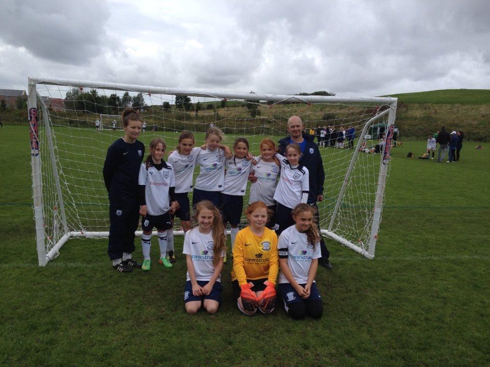 Euxton tournament 30/8/14 u11s team winners