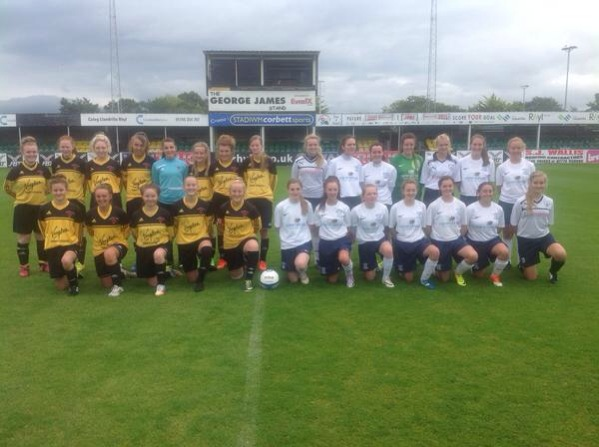 U16's Rhyl friendly 10/8/14
