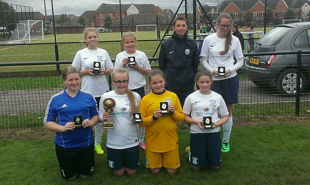 Euxton Tournament U13's with medals