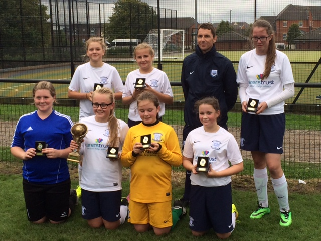 Euxton Tournament - U13's with medals