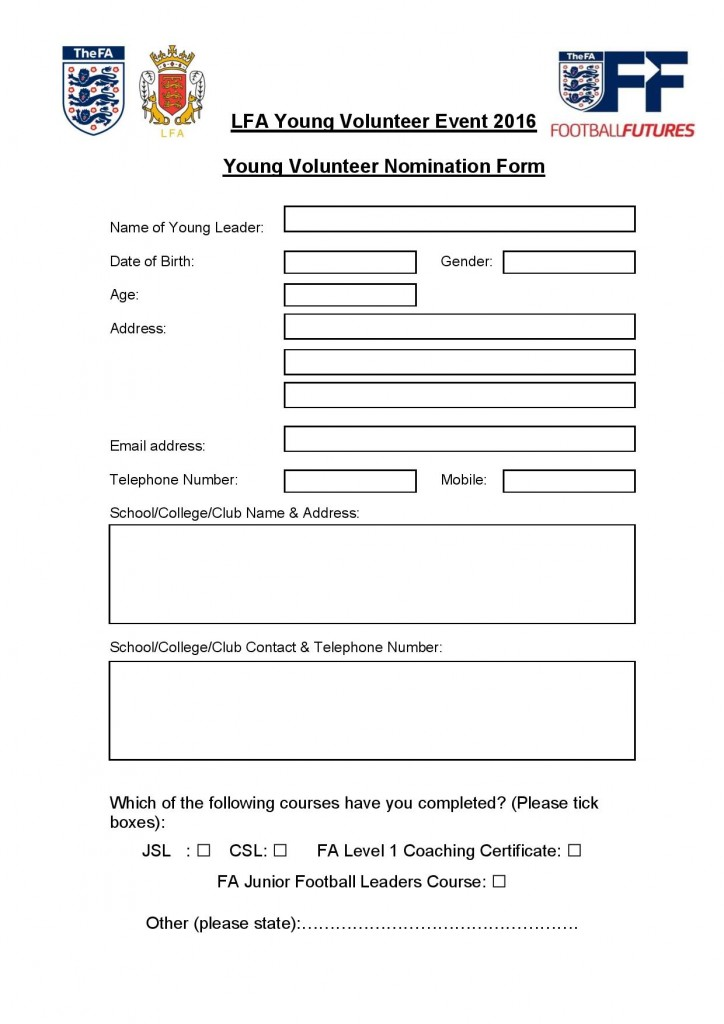 County Young Volunteers - Application Form 2016-page-001 (2)